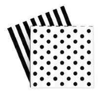 Paper eskimo Black Tie Napkin