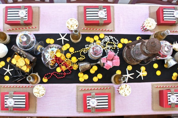 Pirate Party table ideas