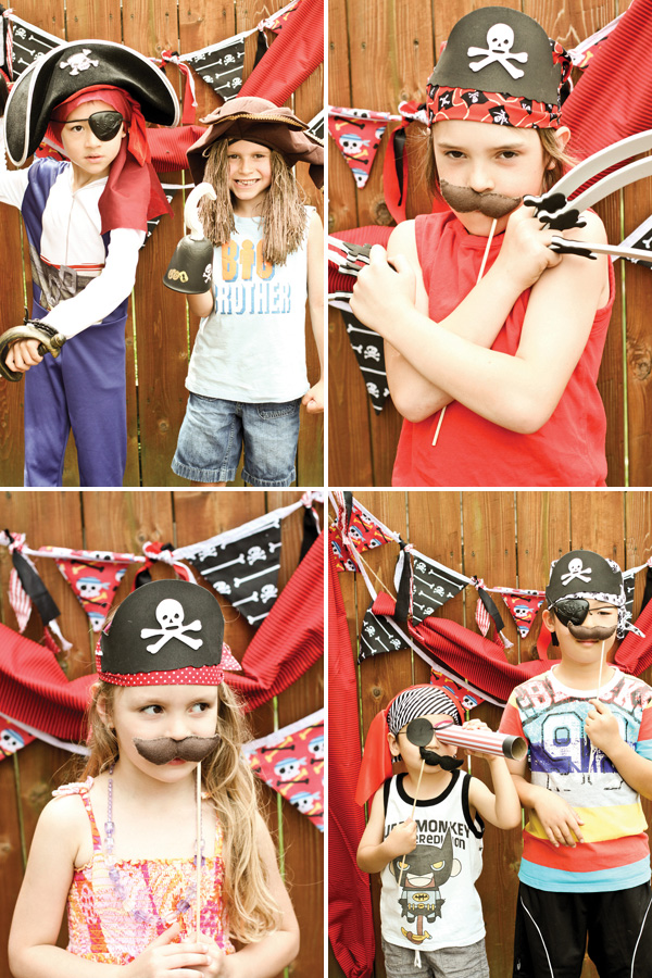 Pirate Party costumes
